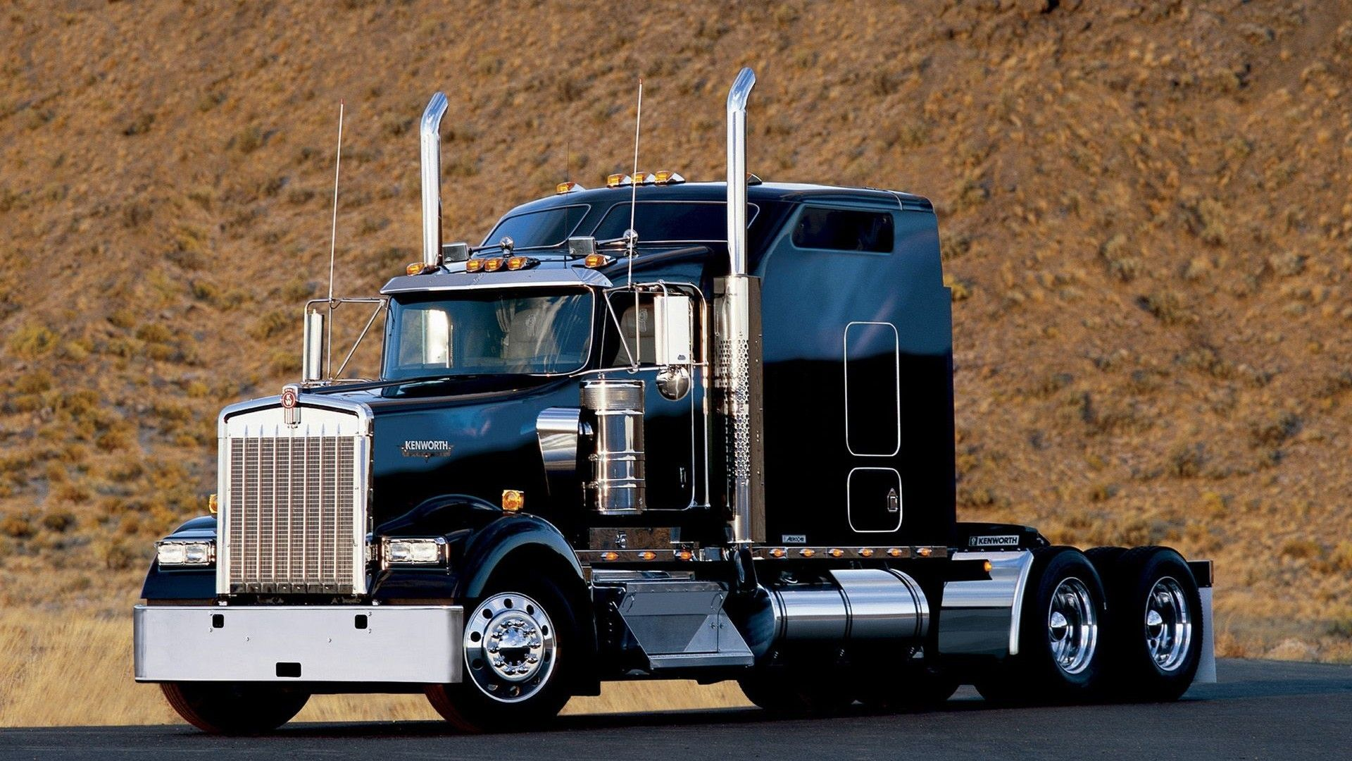 Kenworth W900 Semi Tractor 56 Wallpaper 1920x1080 215099
