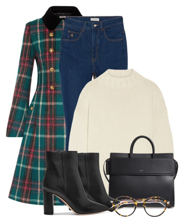 """""""Jeans & Ankle Boots"""" by pure-vnom ❤ liked on Polyvore featuring Miu Miu, Attico, Alexander McQueen, Givenchy, Gianvito Rossi and Christian Dior"""