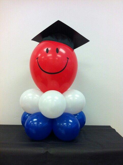 Graduation Balloon Centerpiece - Graduation Balloon Centerpiece Balloons I Have Done Pinterest