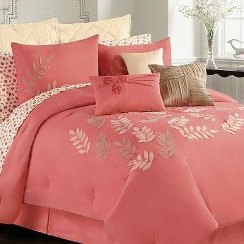Details About Rose Tree Izabelle Queen Comforter Bedskirt