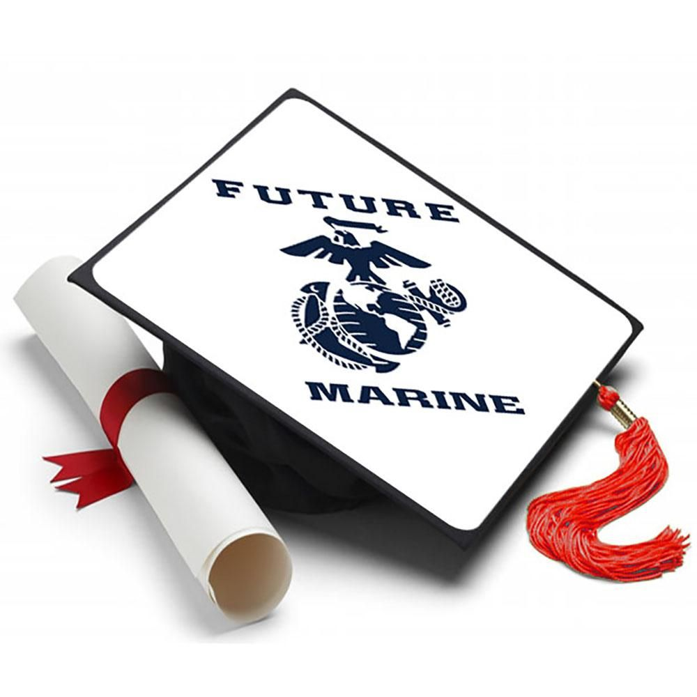 Future marine grad cap tassel topper in 2020