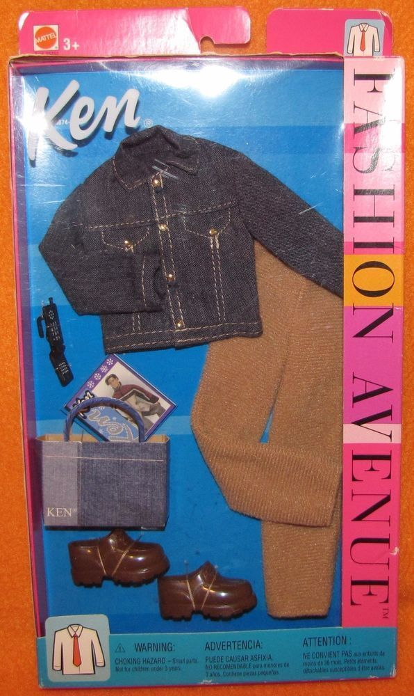 2002 FASHION AVENUE KEN JEAN JACKET TAN 25752 PANTS CELL PHONE MATTEL BARBIE NEW #Mattel #boydollsincamo 2002 FASHION AVENUE KEN JEAN JACKET TAN 25752 PANTS CELL PHONE MATTEL BARBIE NEW #Mattel #boydollsincamo 2002 FASHION AVENUE KEN JEAN JACKET TAN 25752 PANTS CELL PHONE MATTEL BARBIE NEW #Mattel #boydollsincamo 2002 FASHION AVENUE KEN JEAN JACKET TAN 25752 PANTS CELL PHONE MATTEL BARBIE NEW #Mattel #boydollsincamo