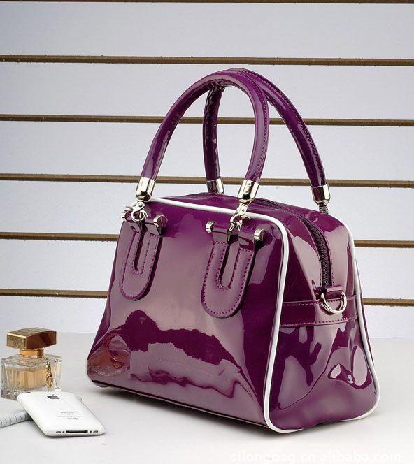 bolsa freeshipping solid bag bolsas femininas women leather handbags 2014 the trend of all match women's noble elegant handbag-inShoulder Ba...