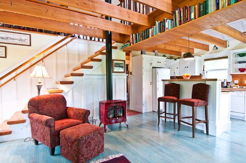 Best Vashon Island Home The Stair Treads Are Made From A 640 x 480