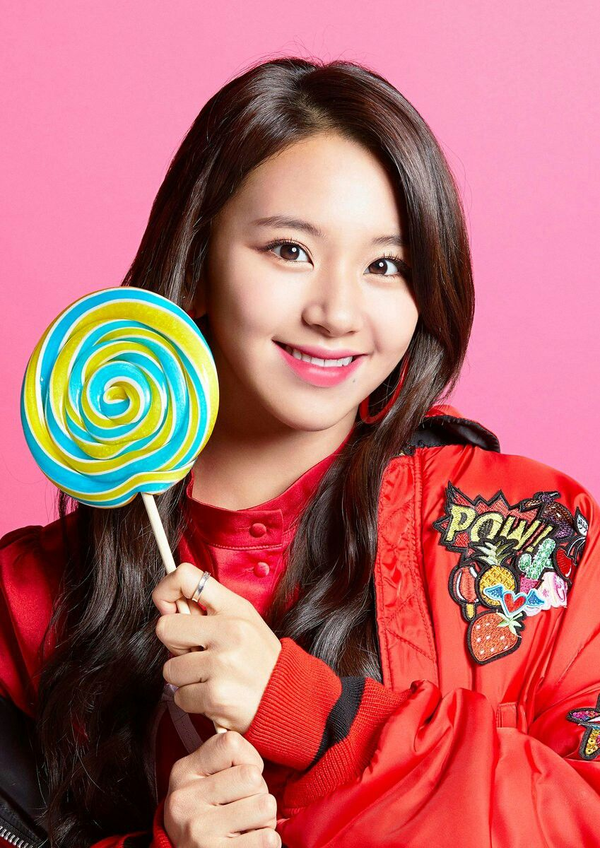 Pin By Twice Station On Baby Tiger Chaeyoung Pop Candy Pop Kpop