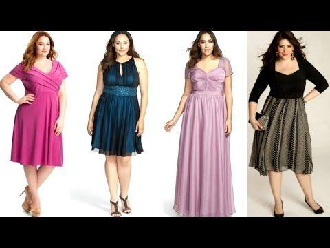d351a4e832 moda para gorditas vestidos de fiesta - YouTube