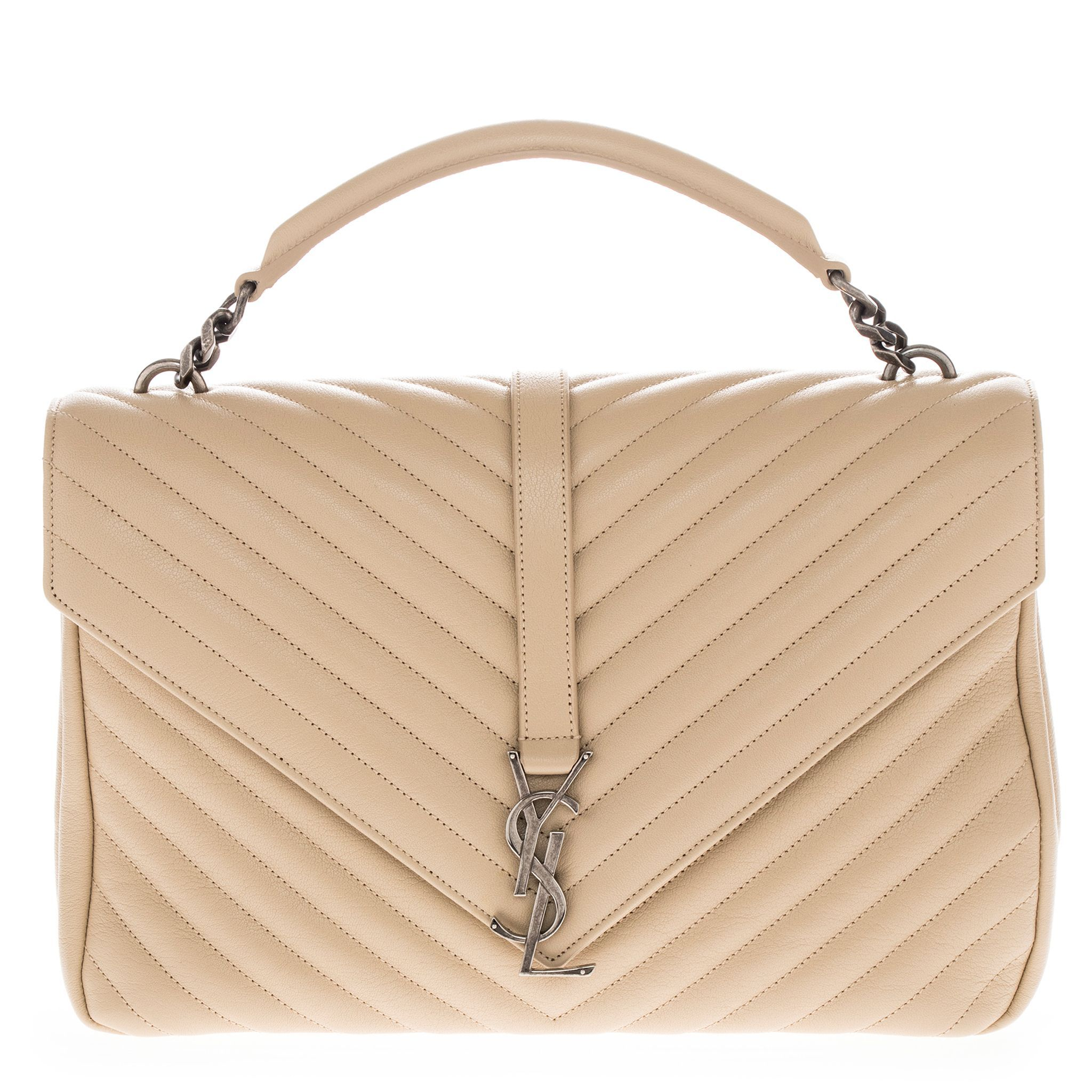 160d9373320 Saint Laurent College Monogram Matelasse Shoulder Handbag, Women's ...