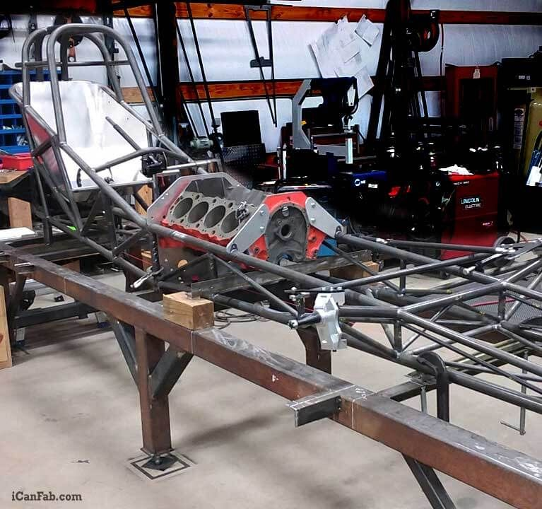 Nostalgia Funny Car Project Chassis Fabrication
