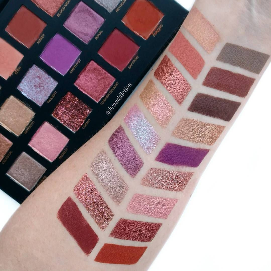 Desert Dusk Eyeshadow Palette by Huda Beauty #12