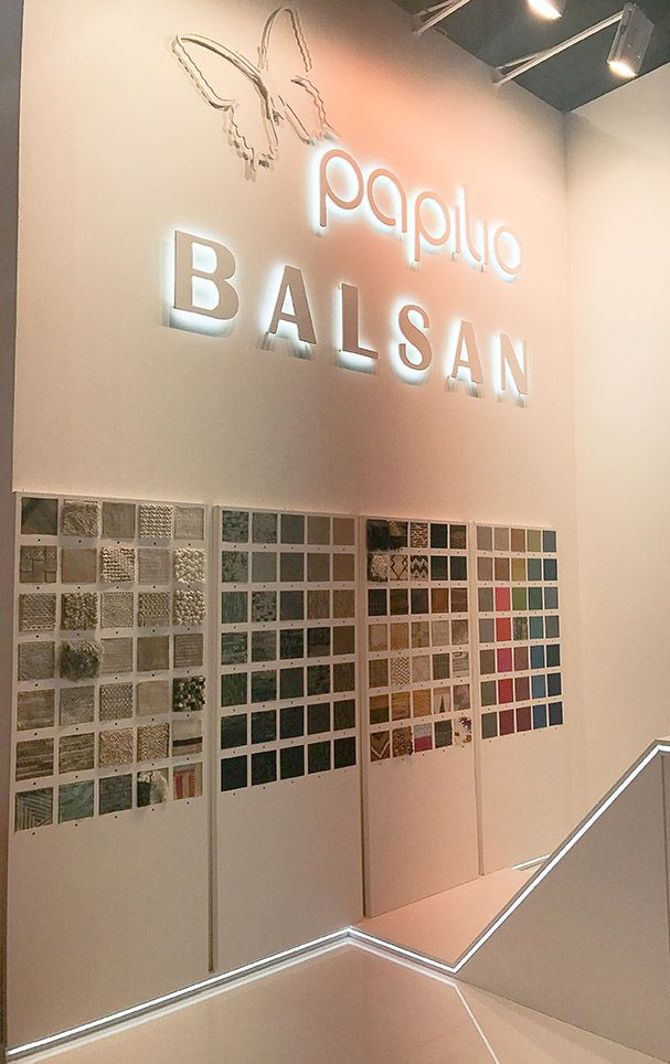 Balsan & Papilio - Salone del Mobile Milano 2017 #Balsan #Papilio #SaloneDelMobile #Milano #Milan #design #interior #interiors #decor #decoration #ideas #color #carpet #rugs #modern #creativity #flooring #artistic #home #hotel #office #inspiration #textile #pattern
