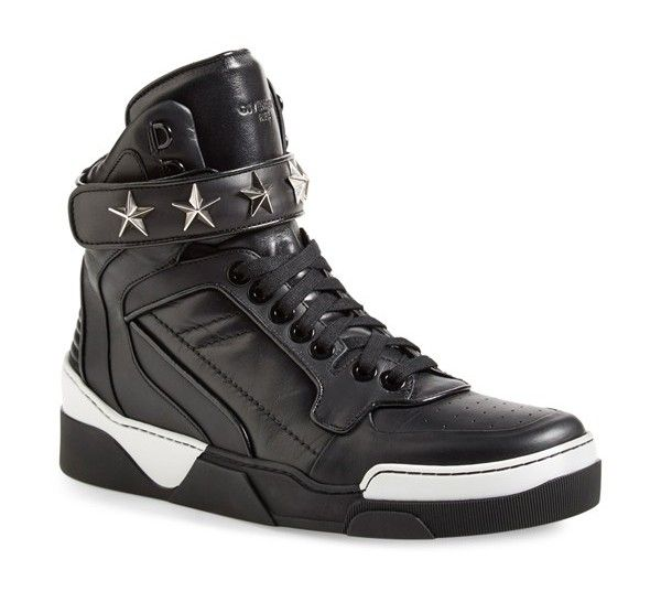 Givenchy Tyson Iii Baskets Salut-top - Noir 5wpSq