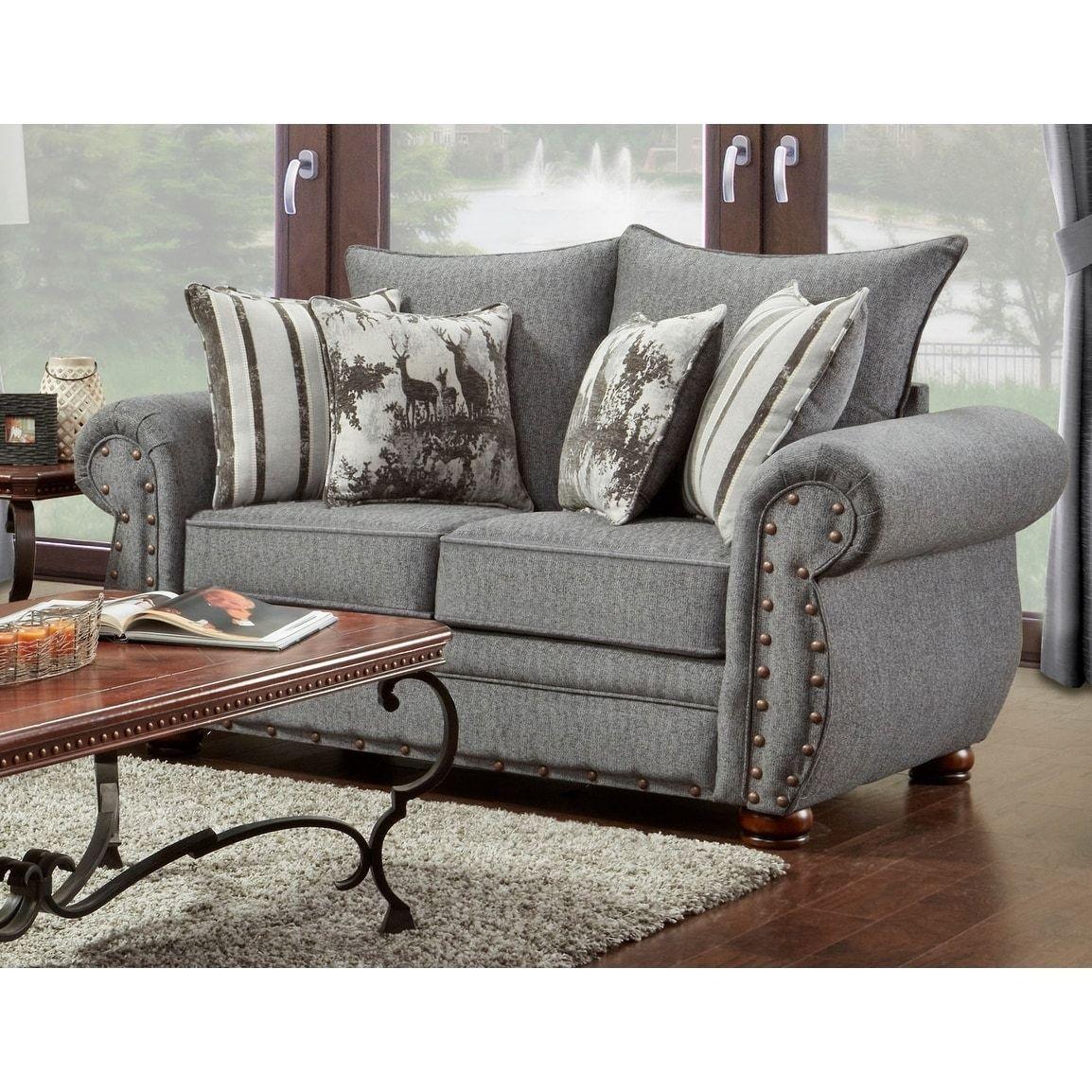 American Furniture Classics Model B3102 Ersl Elk River Storm