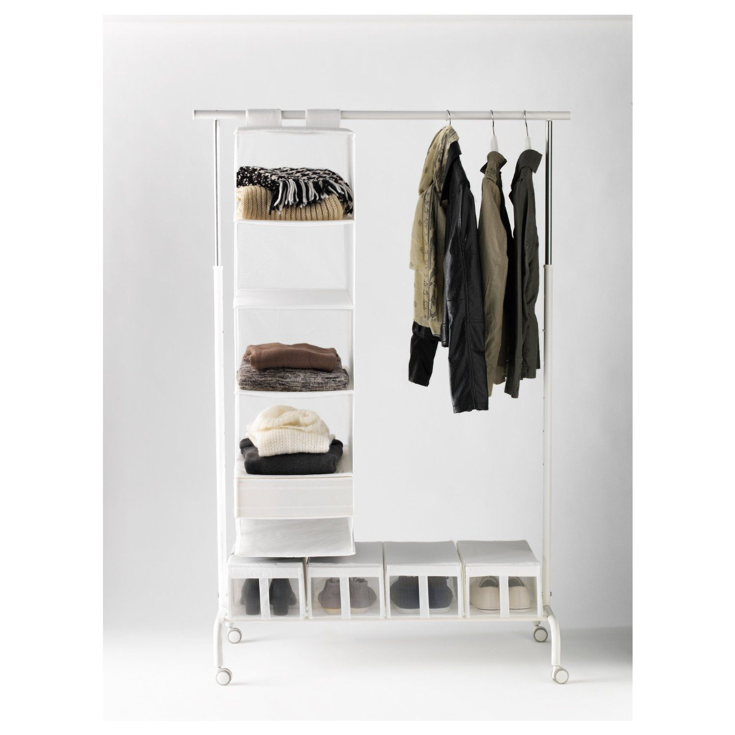Amazon.com: Ikea Rigga Clothes Rack: Storage & Organization