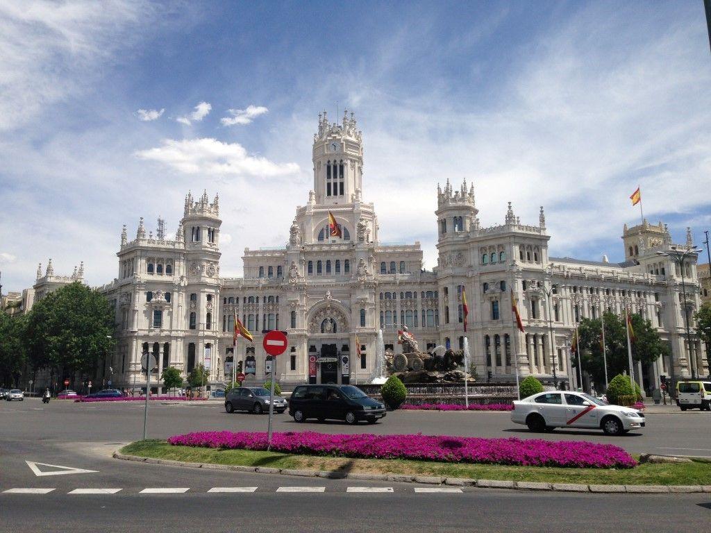 Palacio De Cibeles Madrid Spain Spain Spain Building