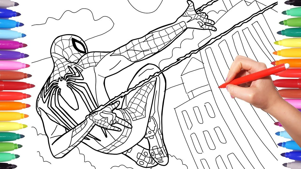 New Ideas Coloring Spiderman Games in 9  Spiderman coloring