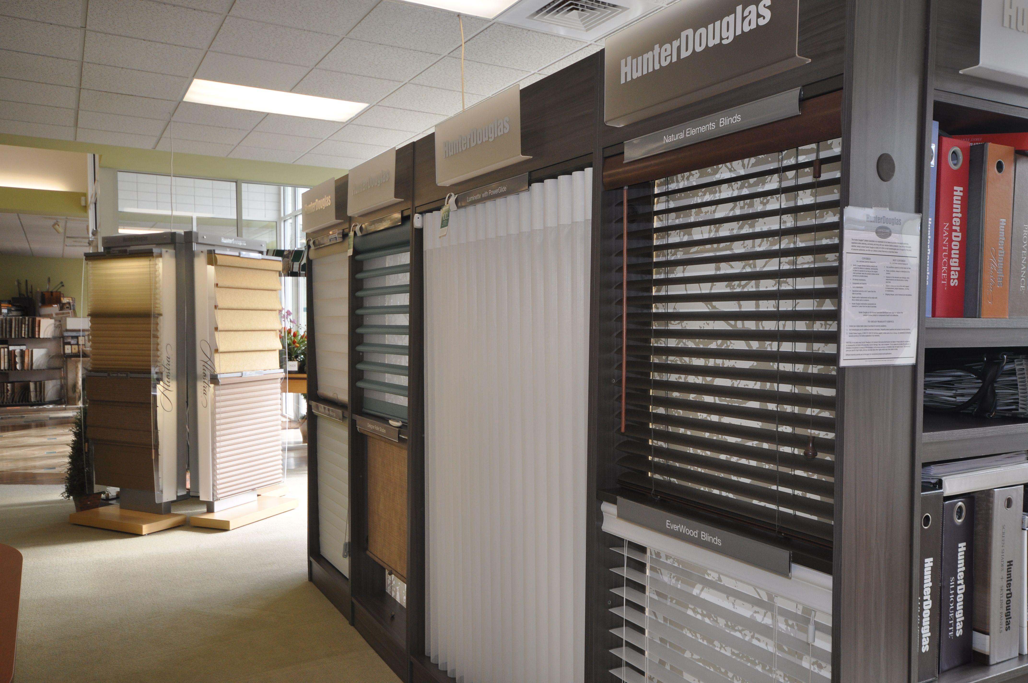 Hunter Douglas Blinds Showroom In 2019 Showroom Design