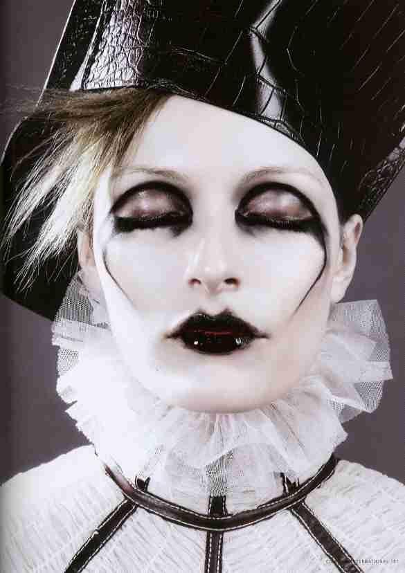 "Citizen K ""Paris-Berlin"" Makeup Artist: Maria Olsson Photographer: Karl Lagerfeld"