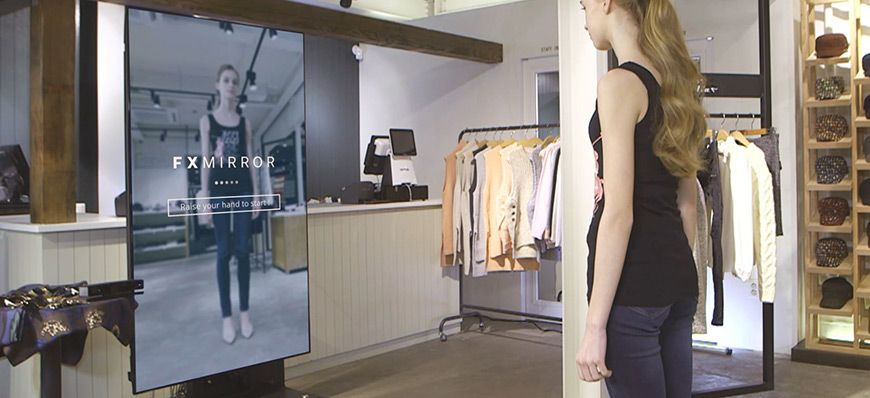 4 Advanced Retail Display Technologies Gadgets For Your Store Clueless Closet Digital Retail Fittings