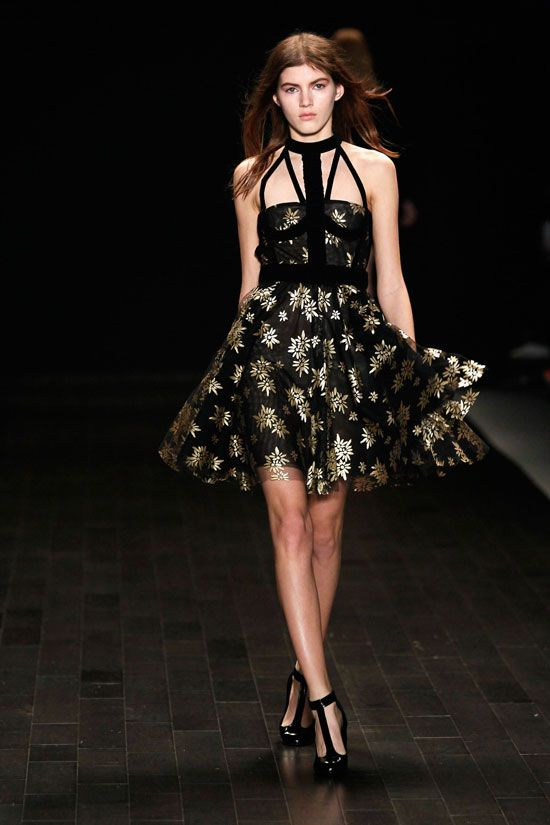 Jill Stuart Fall 2013 Collection at Mercedes – Benz New York Fashion Week. Photos provided by Peter Michael Dills/Getty.