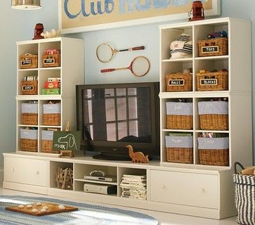 Cameron Wall System   Media Storage   Pottery Barn Kids, Perfect Wall Set  Up For