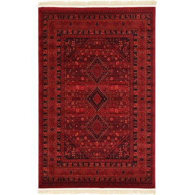 Found It At Wayfair Bokhara Red Area Rug