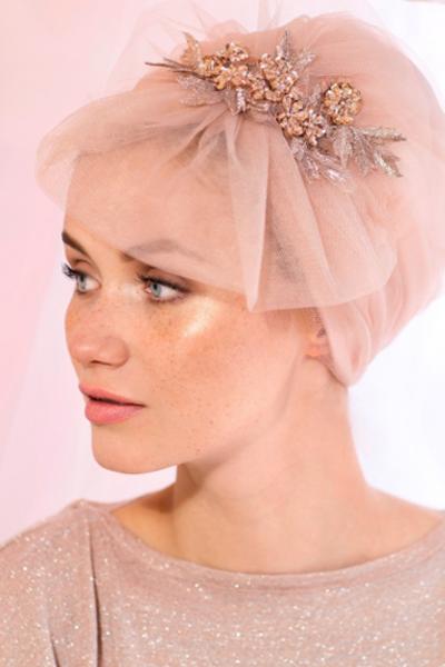 Photo of Elegant Wedding Head Coverings