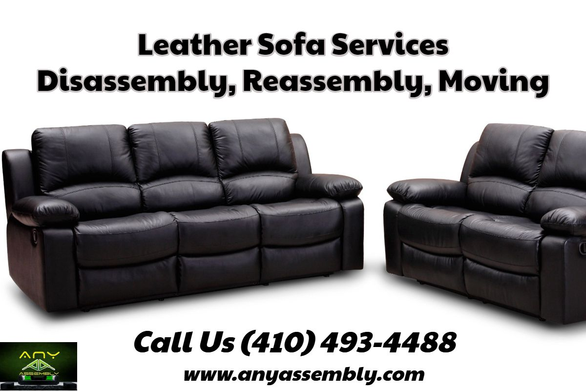 Leather Sofa Disassembly Reassembly Moving Sofa Leather Sofa