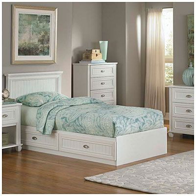 Best View Ameriwood™ Twin Mates Federal White Collection Deals 640 x 480