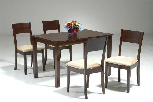 Cafe 44 5 Piece Compact Dining Table Set By New Spec Inc