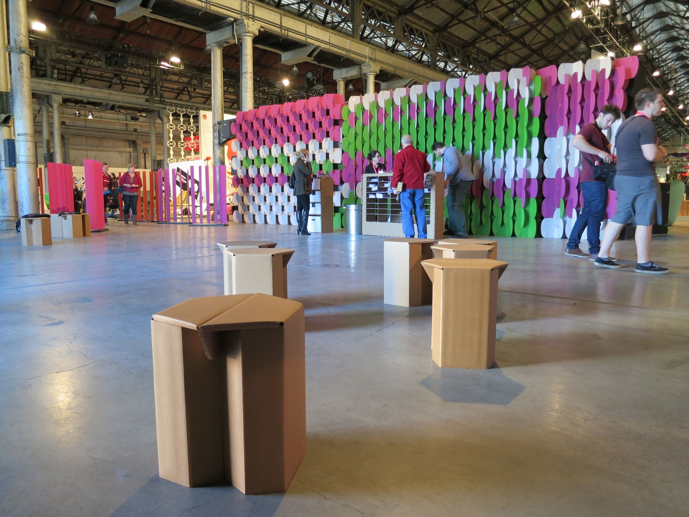 Mio At Sydney Design Fair Nomad is the ideal temporary
