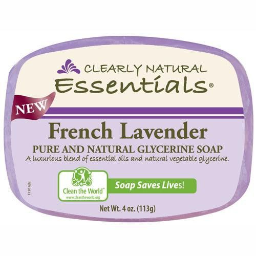 Clearly Natural Glycerin Bar Soap French Lavender (1x4 Oz)