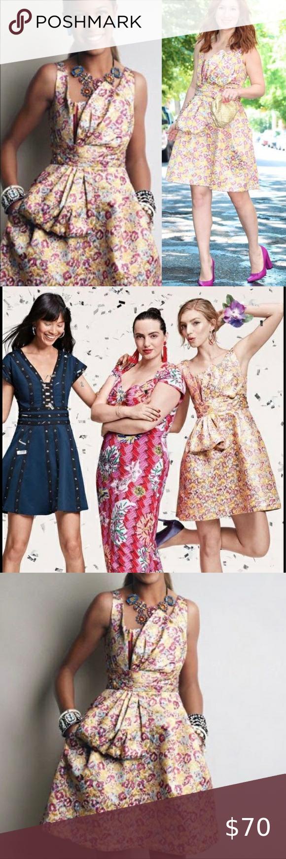 Zac Posen Target Brocade Party Dress Size 14 Size 14 Dresses Dresses Party Dress [ 1740 x 580 Pixel ]