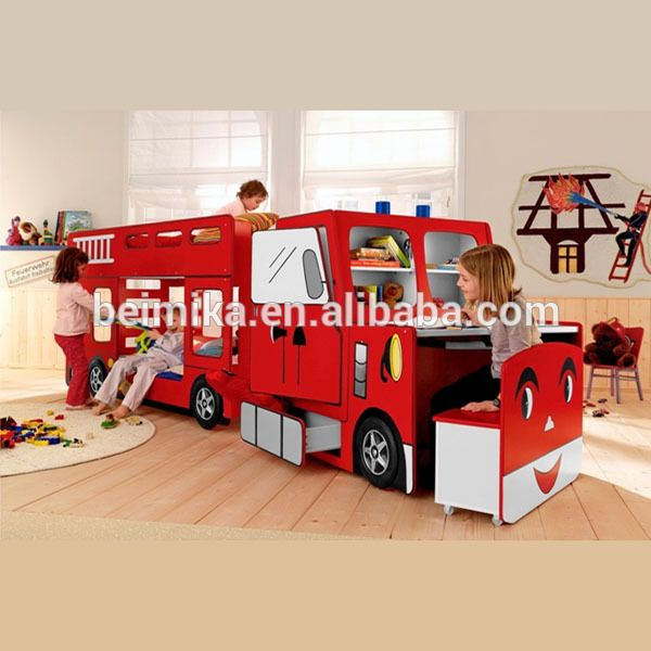 Fire Engine Kids Children Bunk Car Bed Find Complete Details