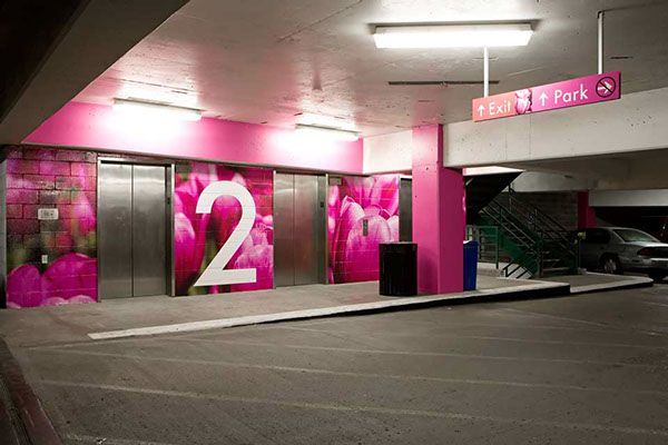 Car Town Garage Design: Parking Garage Signage Images