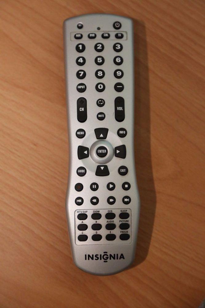 INSIGNIA LCD TV REMOTE CONTROL 66700ABA2-039-R NS-LCD26A