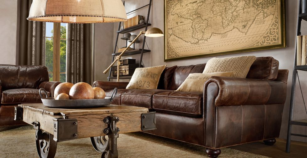 brown leather living room furniture. Best Brown Leather Sofa Living Room Ideas Furniture  Regarding With Plan living room 6 SteamPunk InteriorES Pinterest