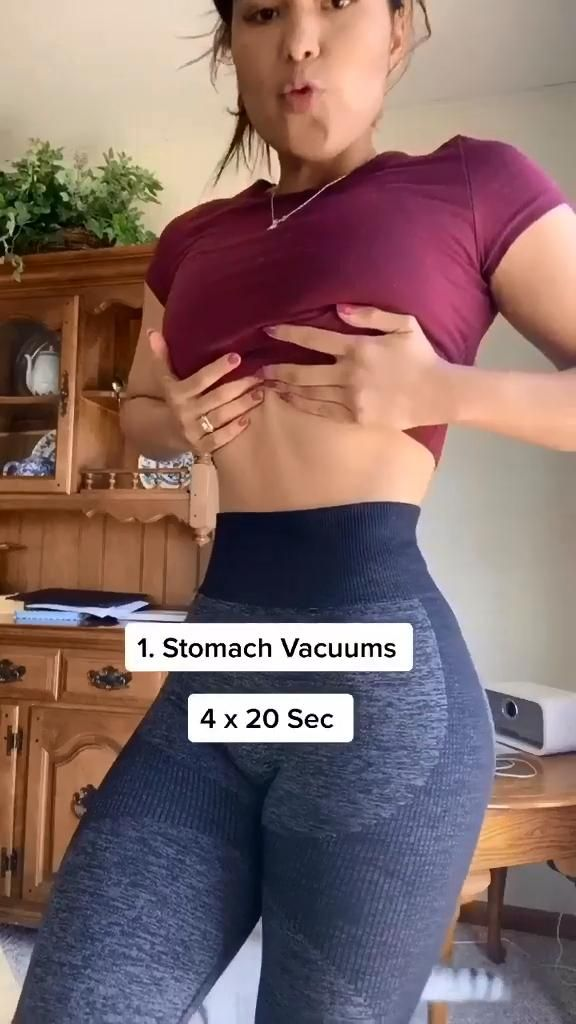 Workouts to get a smaller waist fast at home