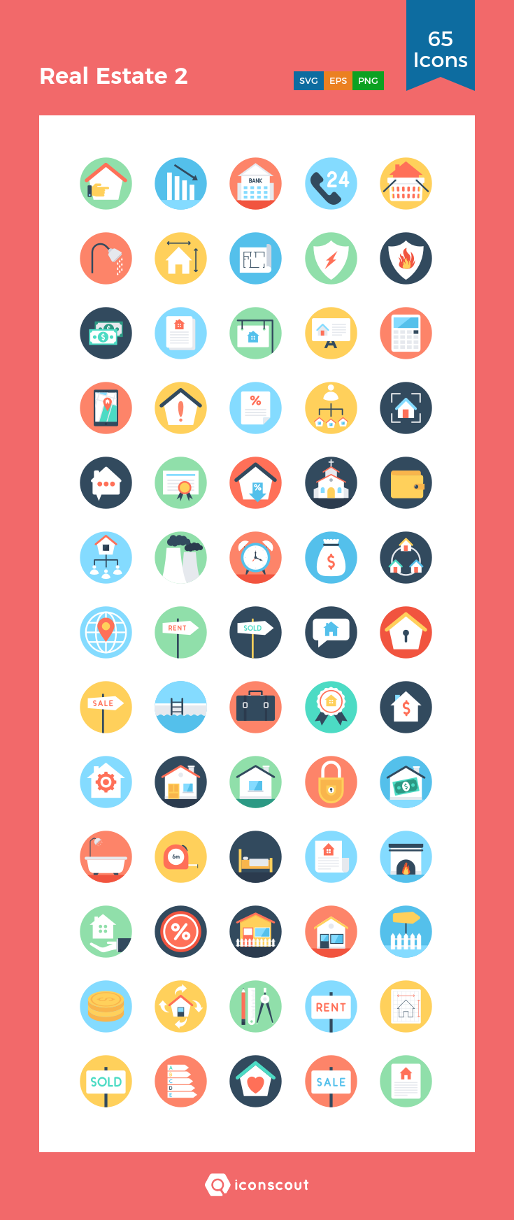 Download Real Estate 2 Icon Pack Available In Svg Png Eps Ai Icon Fonts With Images Icon Pack Flat Icon Restaurant Icon