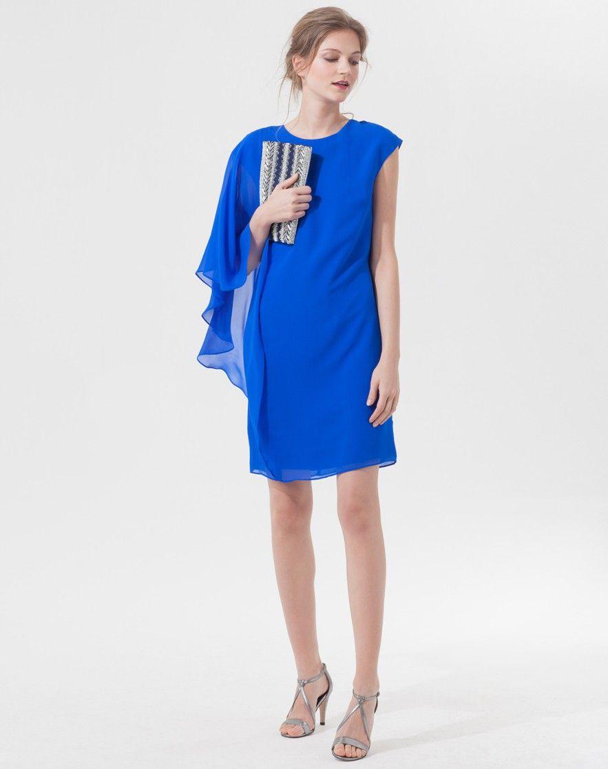 Extrêmement Robe droite dos V dentelle - MOONLIGHT - NOIR - Etam | ◅ Robes  ZF96