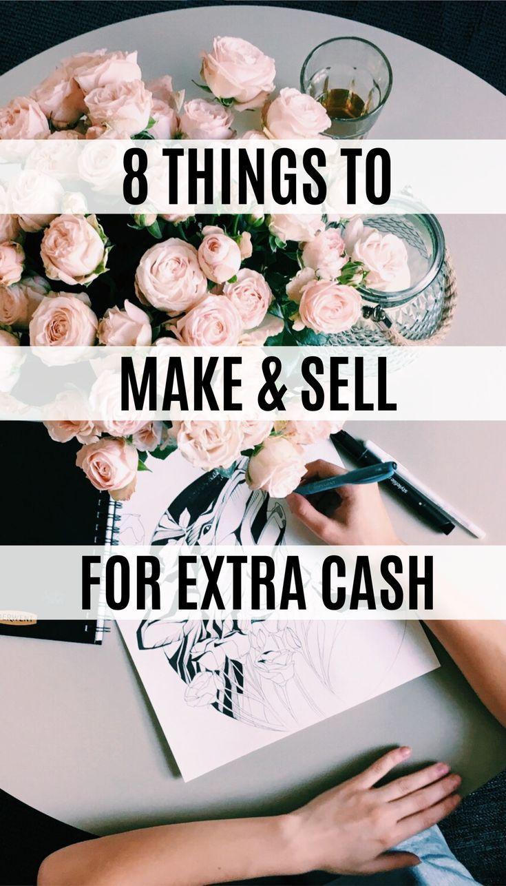 8 вещей, которые можно заработать и продать за побочные деньги