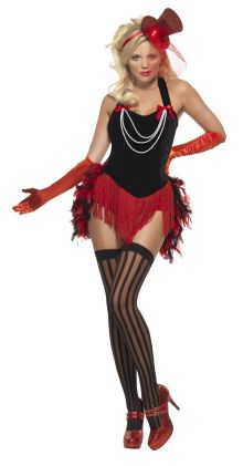**CLEARANCE** Red Mini Under Dress Women/'s Fancy Dress Costume Smiffy/'s