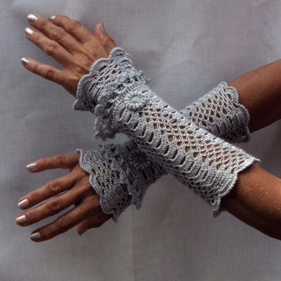 Cuffs The Silver Swan Victorian Lace made by Dom by domklary ...