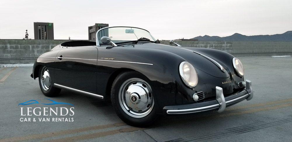 Porsche Speedster 356 Tribute Legends Car Rentals Classic Car Rental Los Angeles Lax Las Vegas Rent Suv Exo Classic Car Rental Classic Cars Car Rental