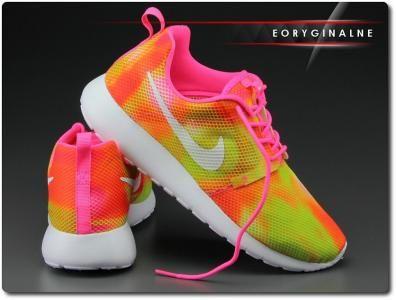 Buty Damskie Nike Roshe One Flight 705486 601 Run 5918592600 Oficjalne Archiwum Allegro Nike Roshe Nike Sneakers Nike