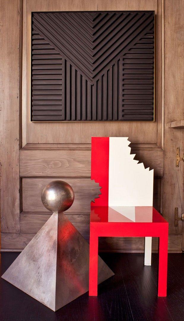 Casa dos anos 1920 ganha d cor surrealista e divertido for Mobilia instagram