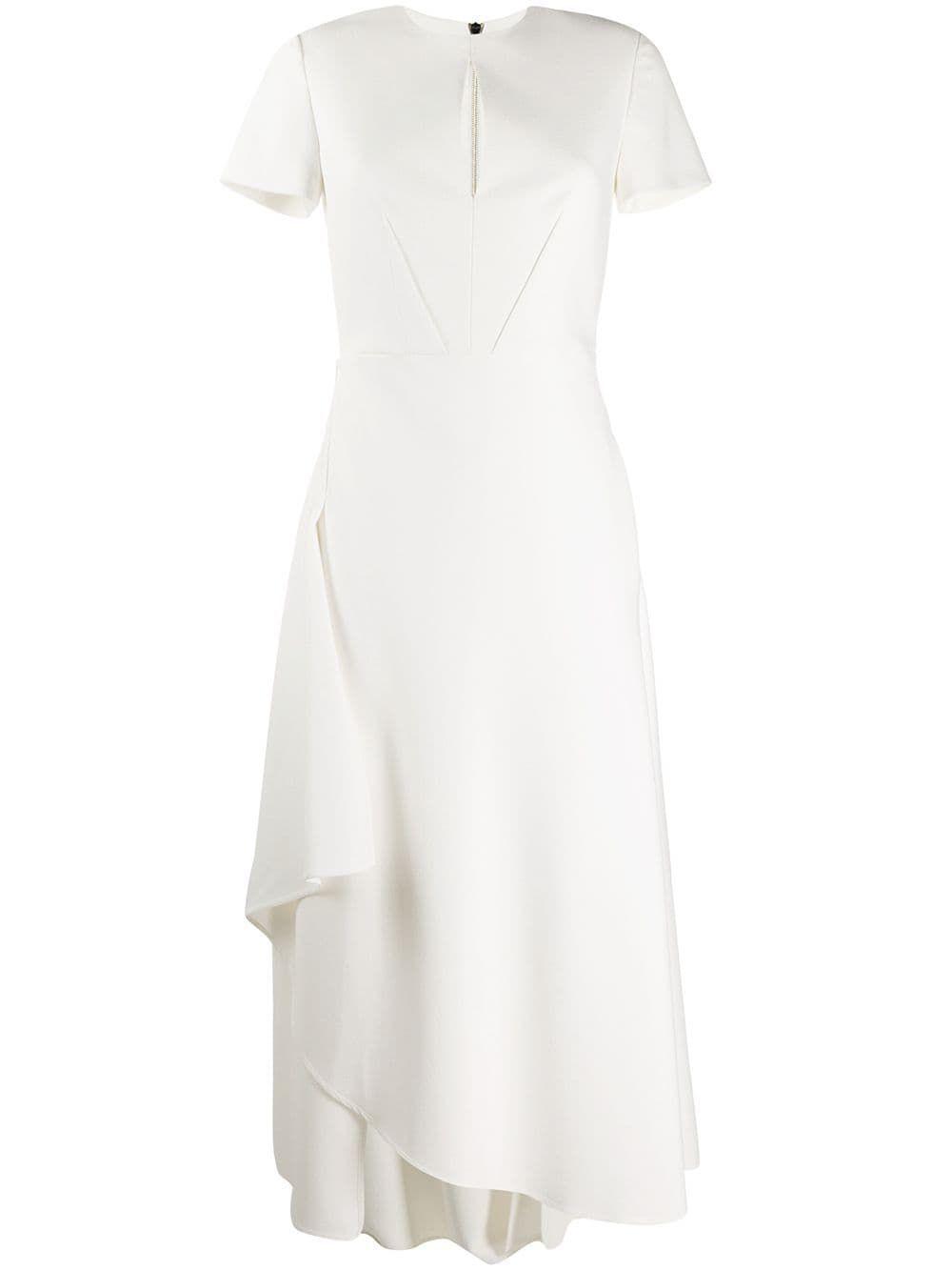Roland Mouret Ardmore Dress White Dresses White Dress Bodycon Dresses Uk