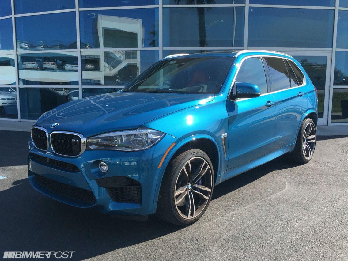 New bmw car finally he chooses bmw over his favorite scorpio car - Bmw X5 M 2015 Blue