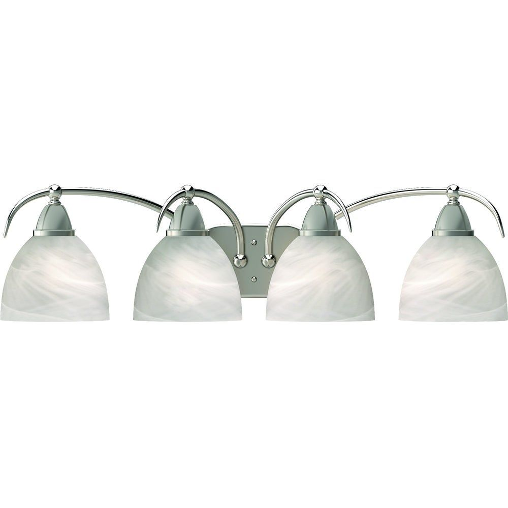 Photo of Volume Lighting Kora 4-Light Indoor Brushed Nickel Vanity