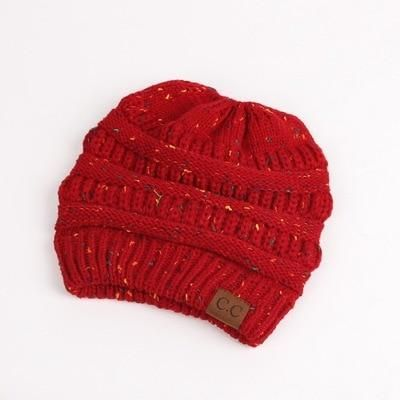 Women s Knit Ponytail Beanie Hats...Super Cool!  b9e9f3164700