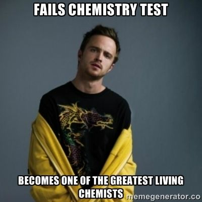 Jesse Pinkman Quotes Jesse Pinkman Fails Chemistry Test Becomes One Of The Greatest Breaking Bad Jesse Pinkman Breaking Bad Jesse